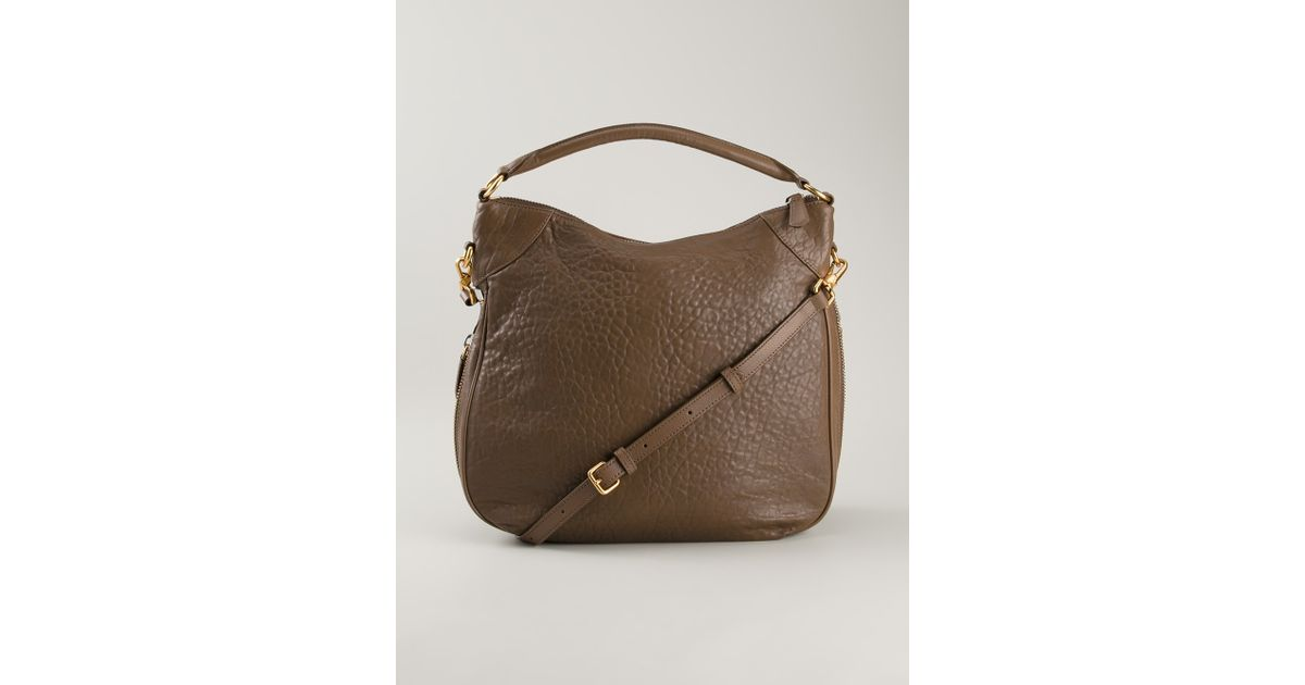 12d8afdc25 Marc By Marc Jacobs Washed Up Billy Hobo Bag in Brown - Lyst
