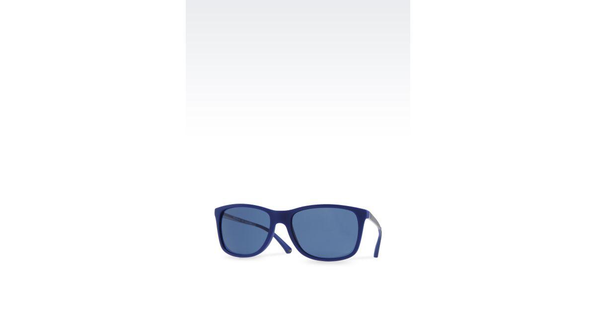 173583136329 Lyst - Emporio Armani Sunglasses in Blue for Men