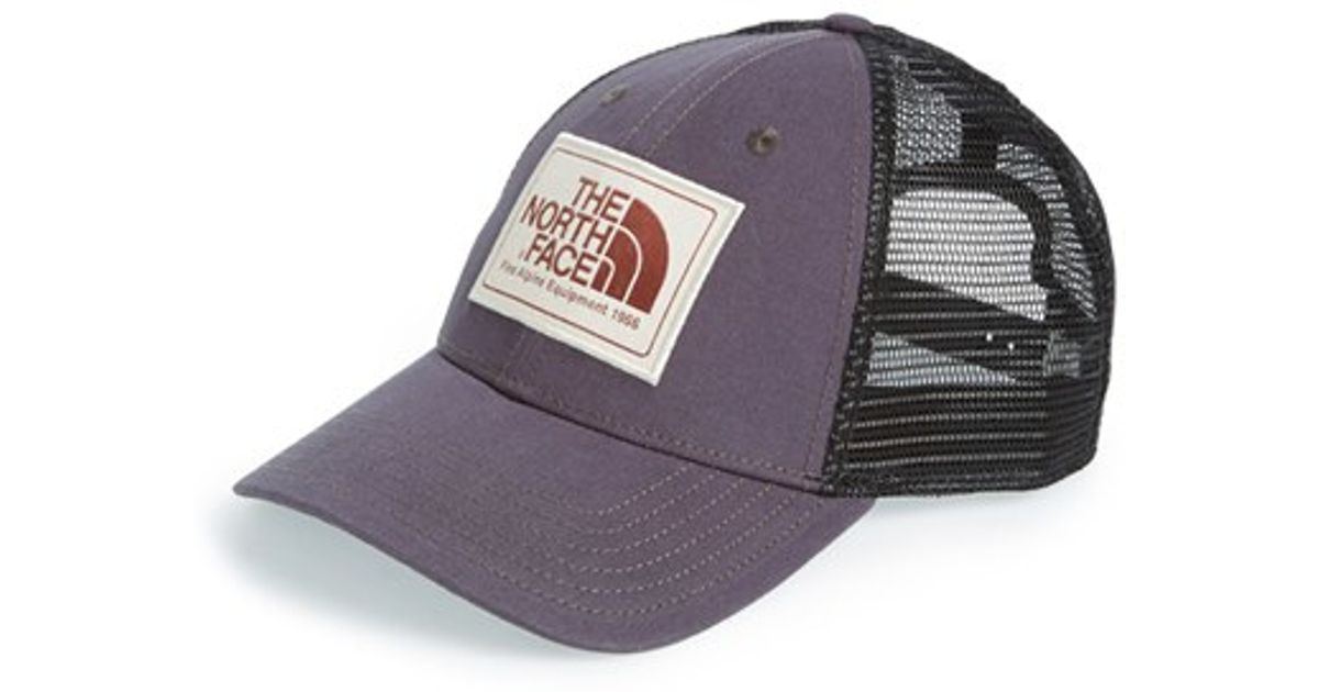 Lyst - The North Face  mudder  Trucker Hat in Black adfe14abae4