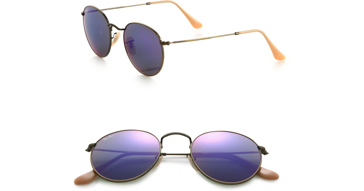57680a8177 Purple Round Metal Ray Bans « Heritage Malta