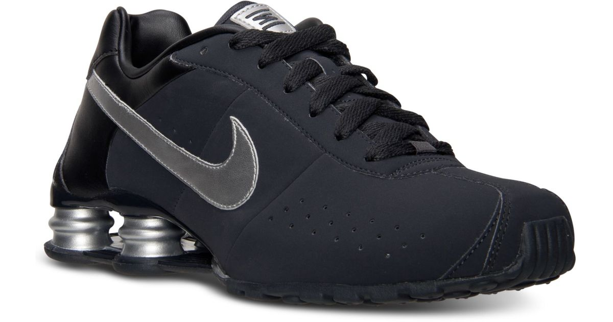 new concept d223d e5cce Nike Mens Shox Classic Ii Si Running Sneakers From Finish Line in Gray for  Men - Lyst