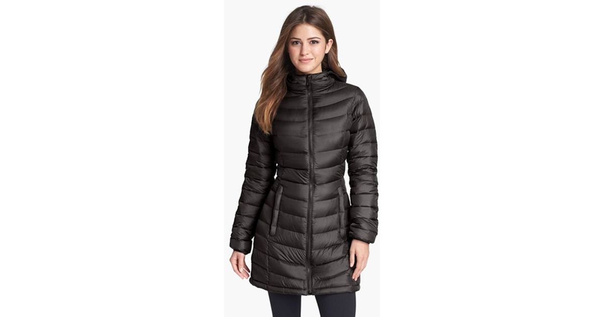 Lyst - The North Face  jenae  Hooded Down Jacket in Black 4d4180b9c