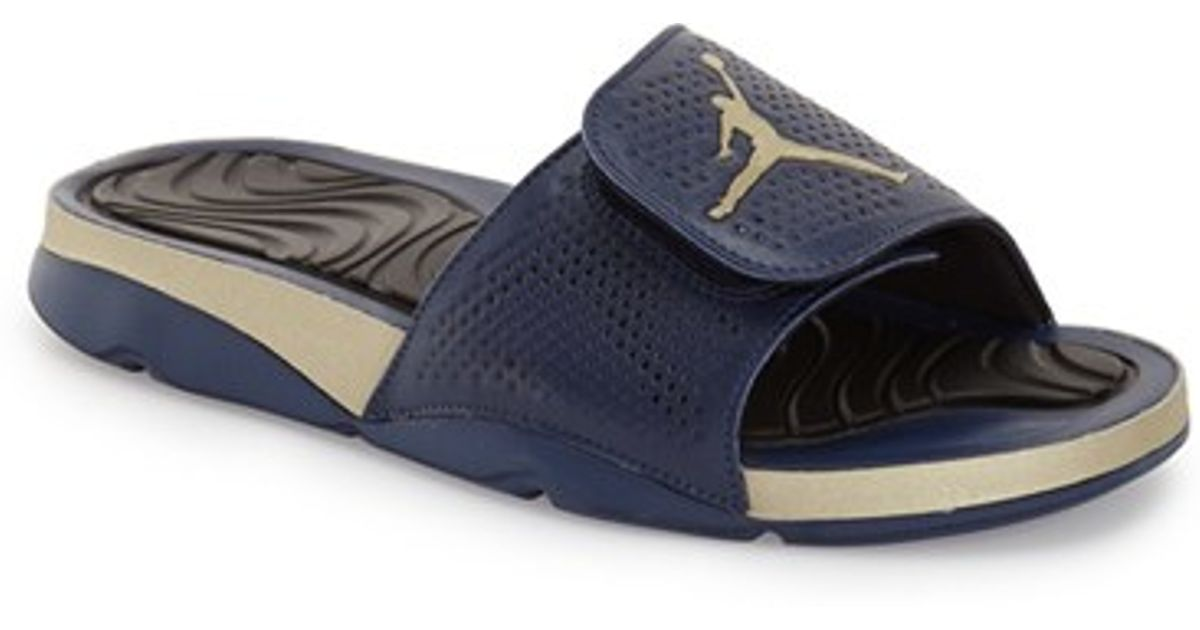 97c759e3a3adf5 Lyst - Nike  jordan Hydro 5  Sandal in Blue