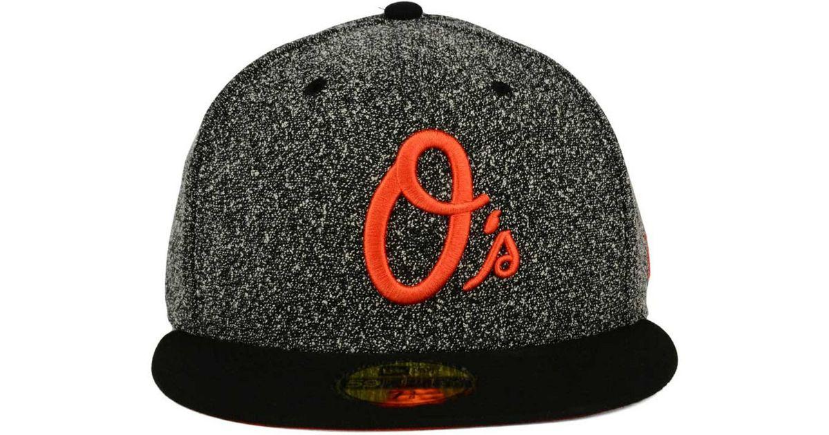big sale 72a34 a06f5 ... amazon lyst ktz baltimore orioles spec 59fifty cap in gray for men  b395c 4a614