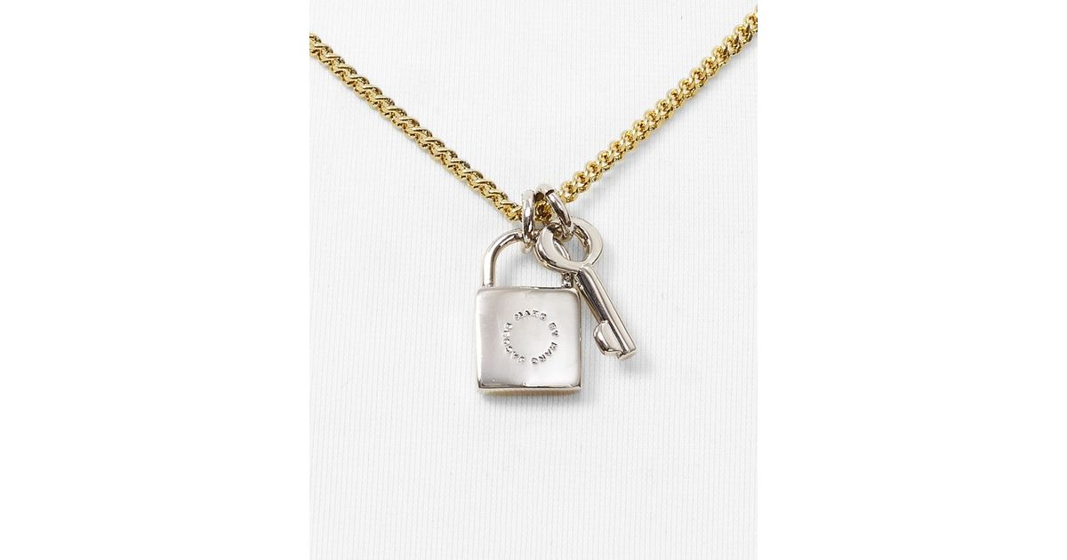 love pnd real ct lock pendant and heart key gold diamond yellow genuine