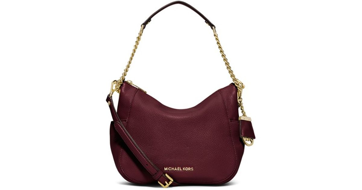 3ec6af8ba9e0 Lyst - MICHAEL Michael Kors 'chandler - Medium' Convertible Shoulder Bag in  Purple