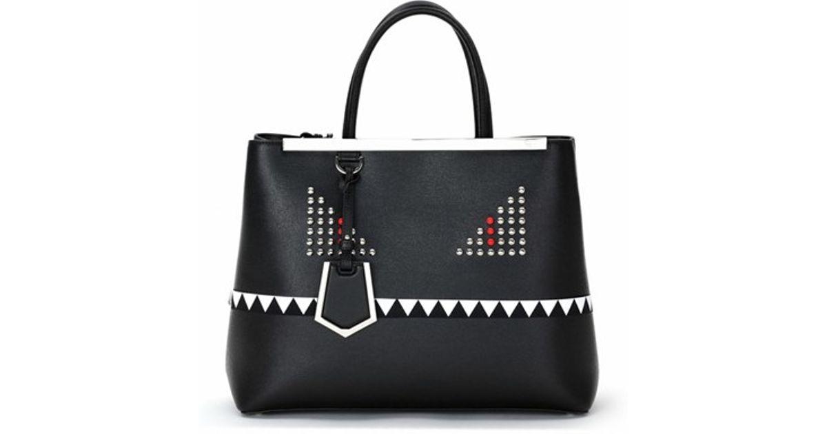 Fendi Monster Tote Bag Black