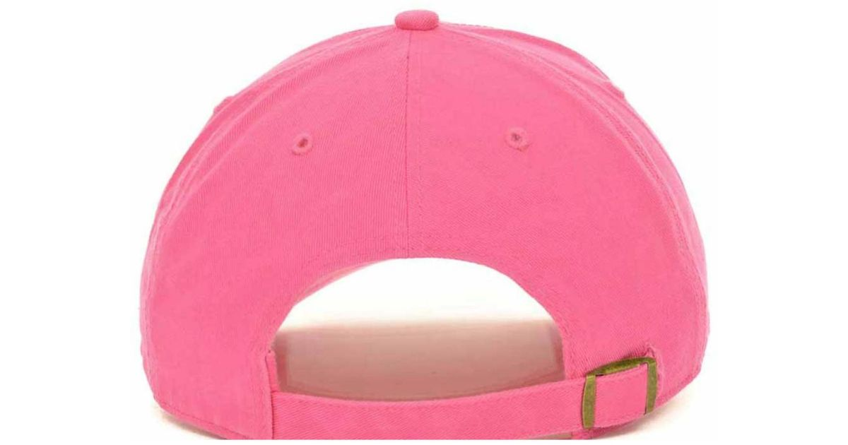 timeless design 669e6 07075 Lyst - 47 Brand Women s Tennessee Titans Berry Clean Up Cap in Pink