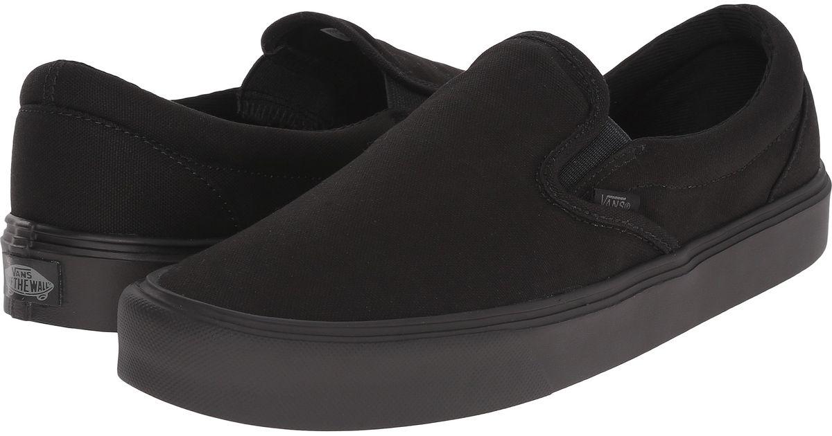6c76fccf7296 Lyst - Vans Slip-on Lite + in Black for Men