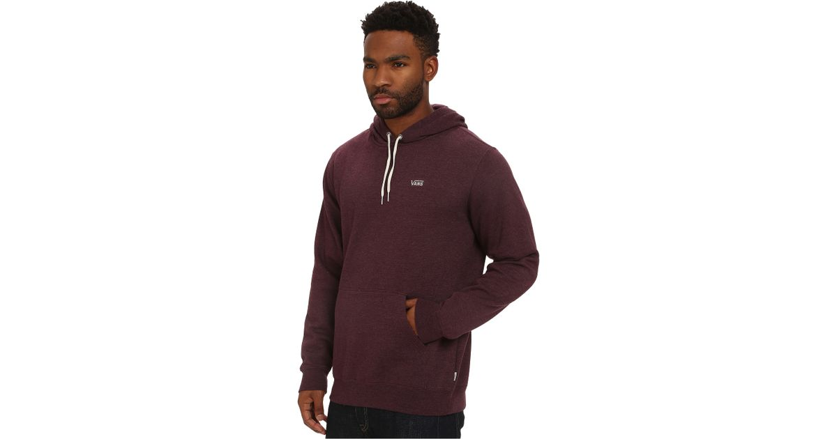 2820adacc7 Lyst - Vans Core Basics Pullover Hoodie in Red for Men