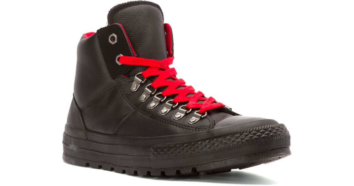 c24a48265275 Lyst - Converse Chuck Taylor All Star High Top Street Hiker in Black for Men