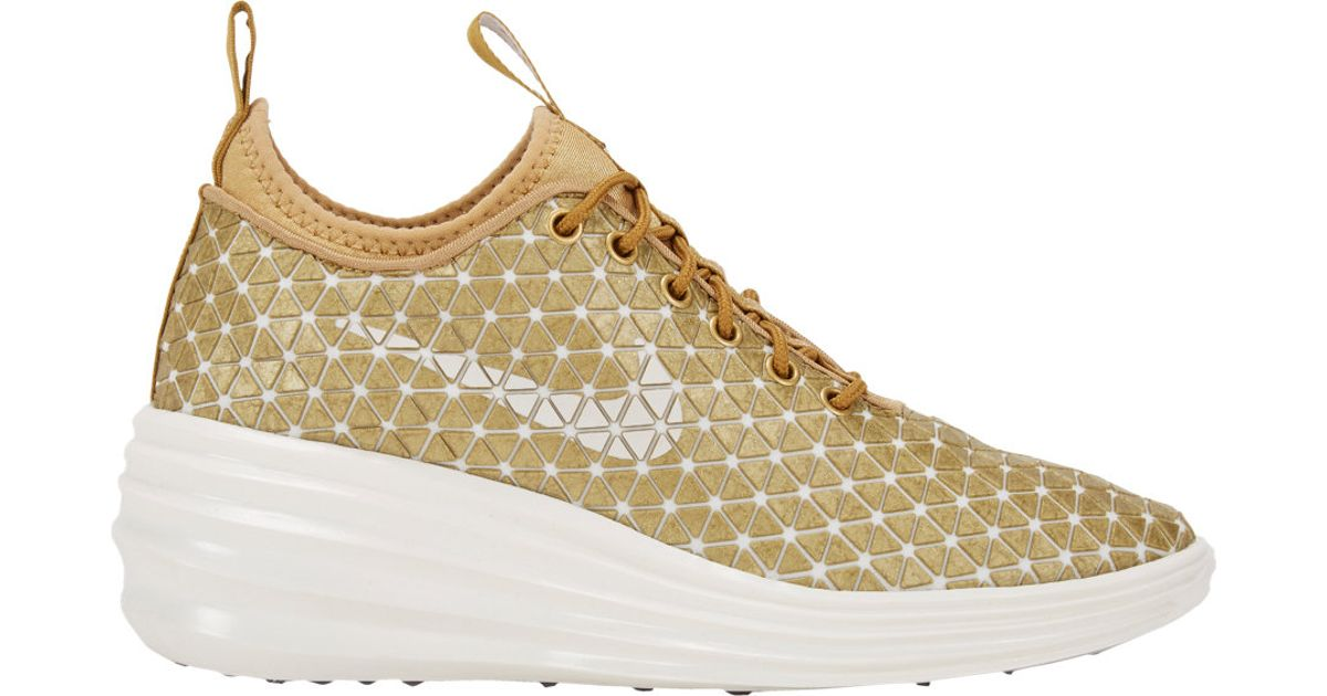 lowest price b83b9 25fb2 Nike Lunar Elite Sky Hi Fw Qs London Sneakers in Metallic - Lyst