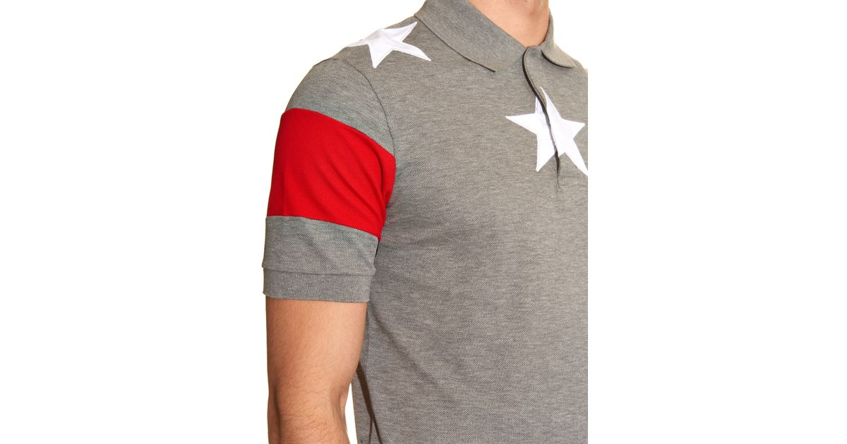 41b93e30 Givenchy Cuban Fit Star Patch Polo Shirts | The Art of Mike Mignola
