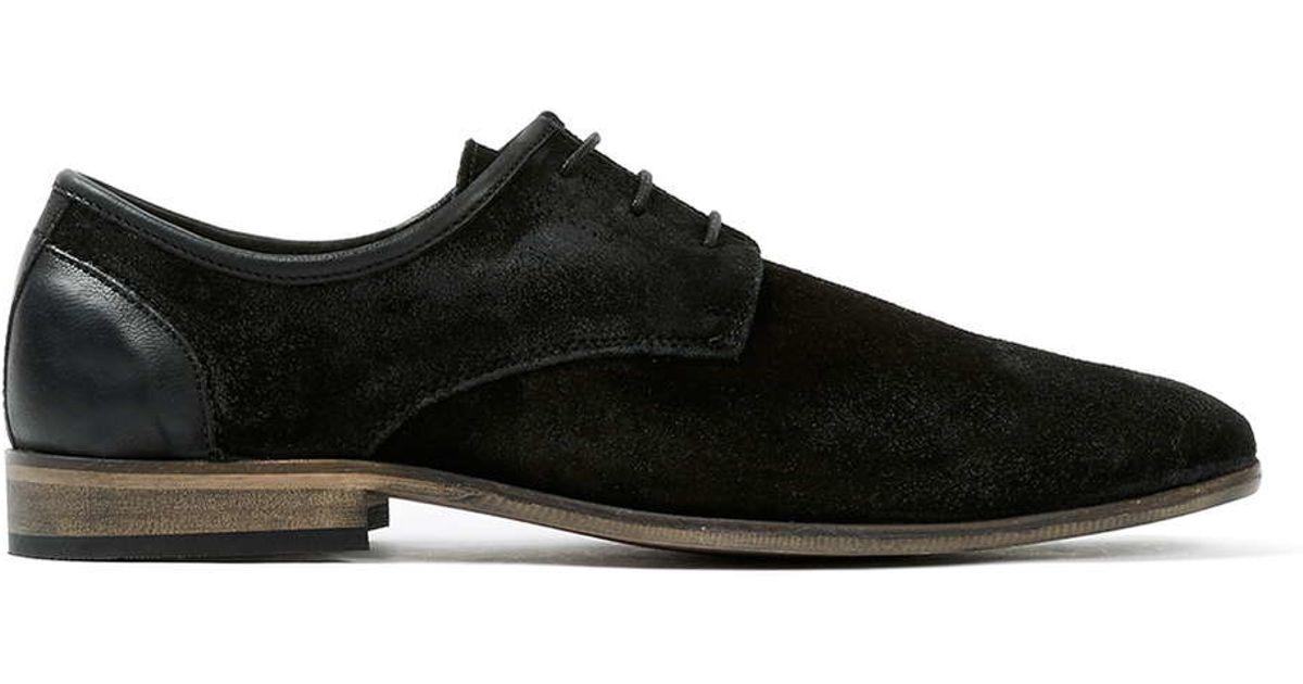 Black Topman Desert Shoe