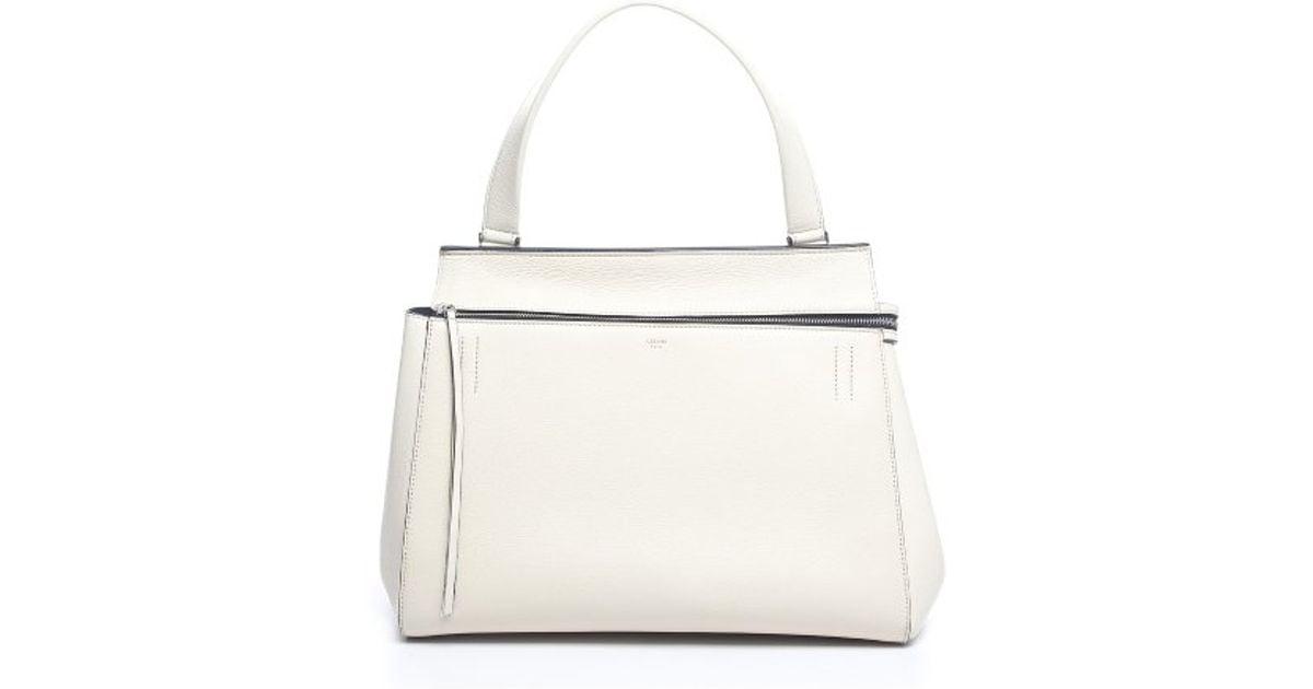 celine style bag - celine grey leather handbag blade