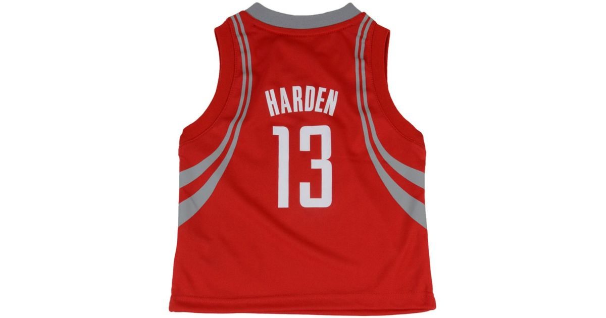 d2554783c adidas Toddlers' James Harden Houston Rockets Replica Jersey in Red for Men  - Lyst