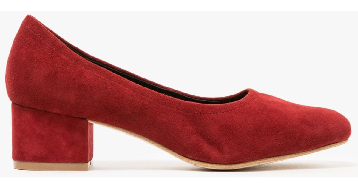 589f0462b7c Lyst - Need Supply Co. Bitsie In Rust Suede