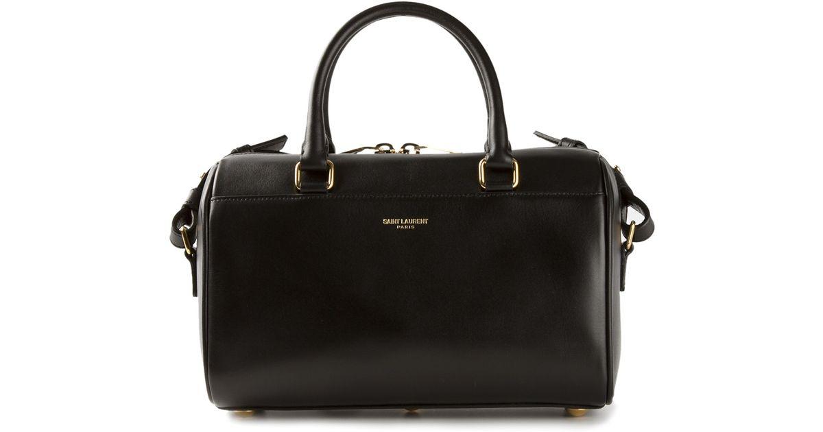 8b2c9ed3ddbe Lyst - Saint Laurent Classic Duffle Bag in Black
