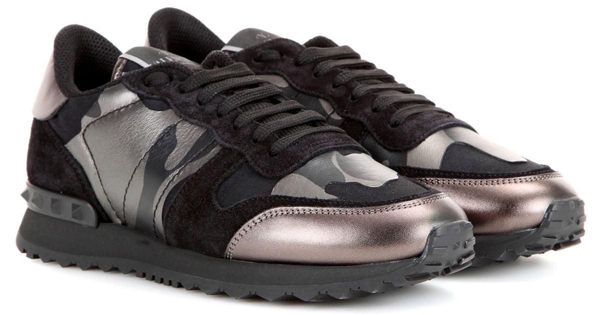 camouflage Rockrunner sneakers - Black Valentino Best Prices Cheap Online 5DzLS5mc