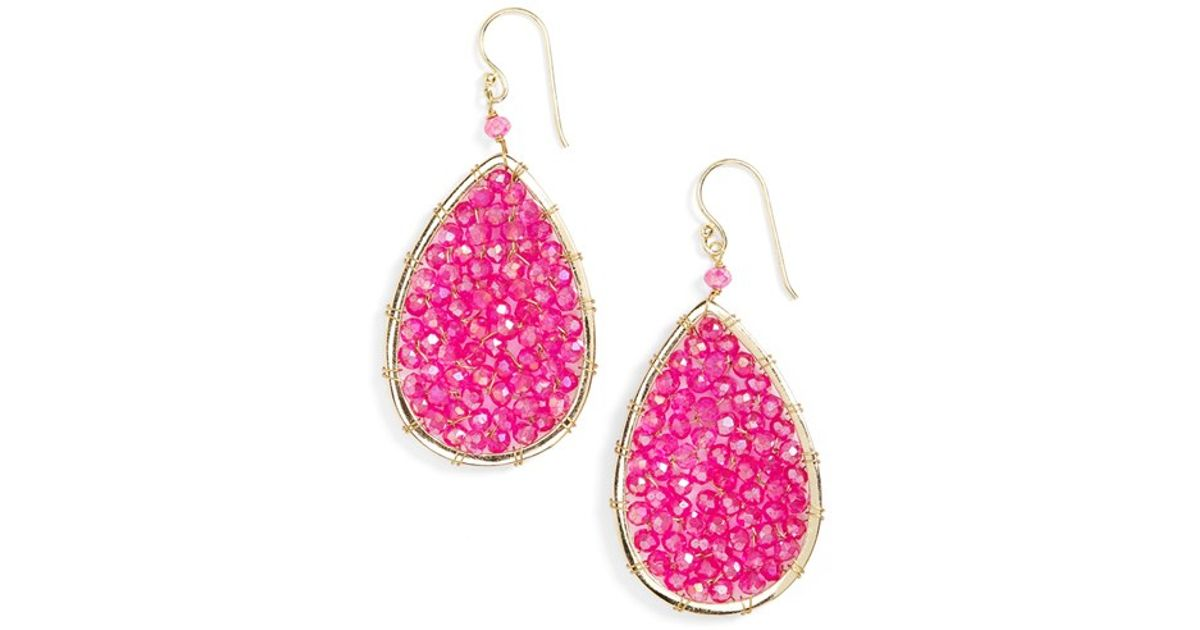 Panacea Teardrop Stone Earrings PjkExbpH