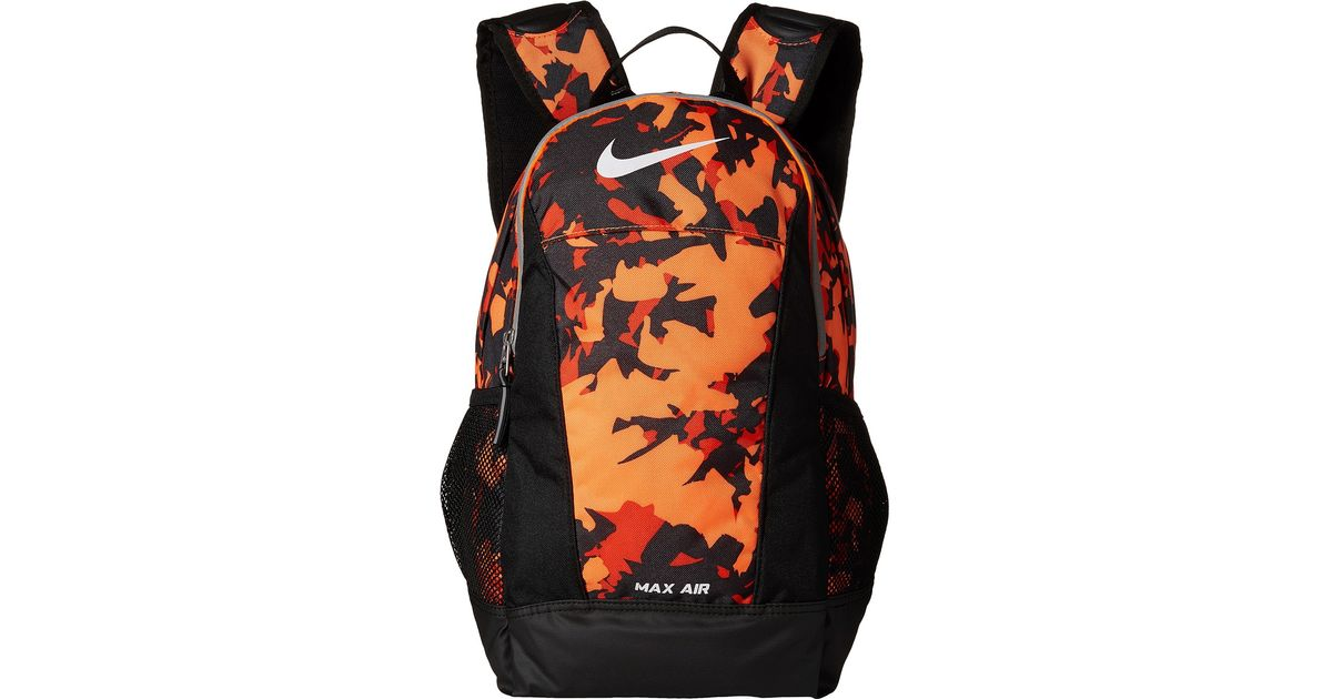 Nike Orange Young Athletes Max Air Small Backpack