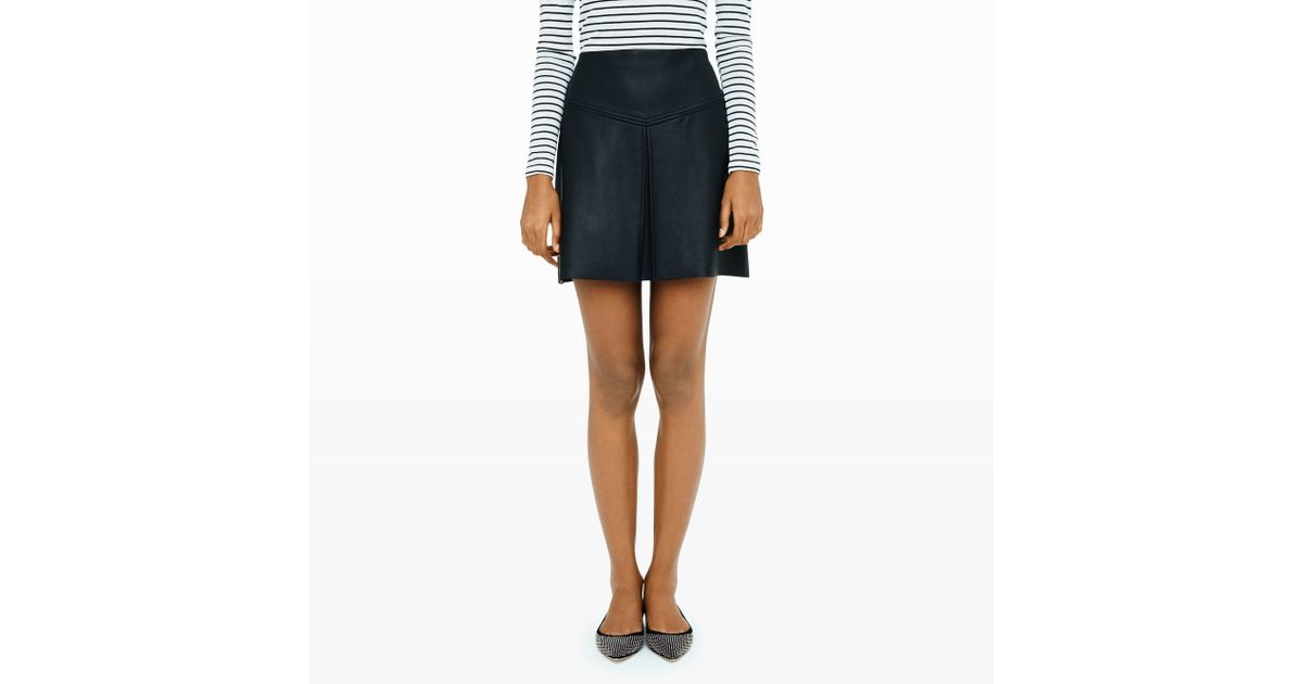 7323967d82 Club Monaco Leather Skirt - Image Skirt and Slipper Imagepv.co
