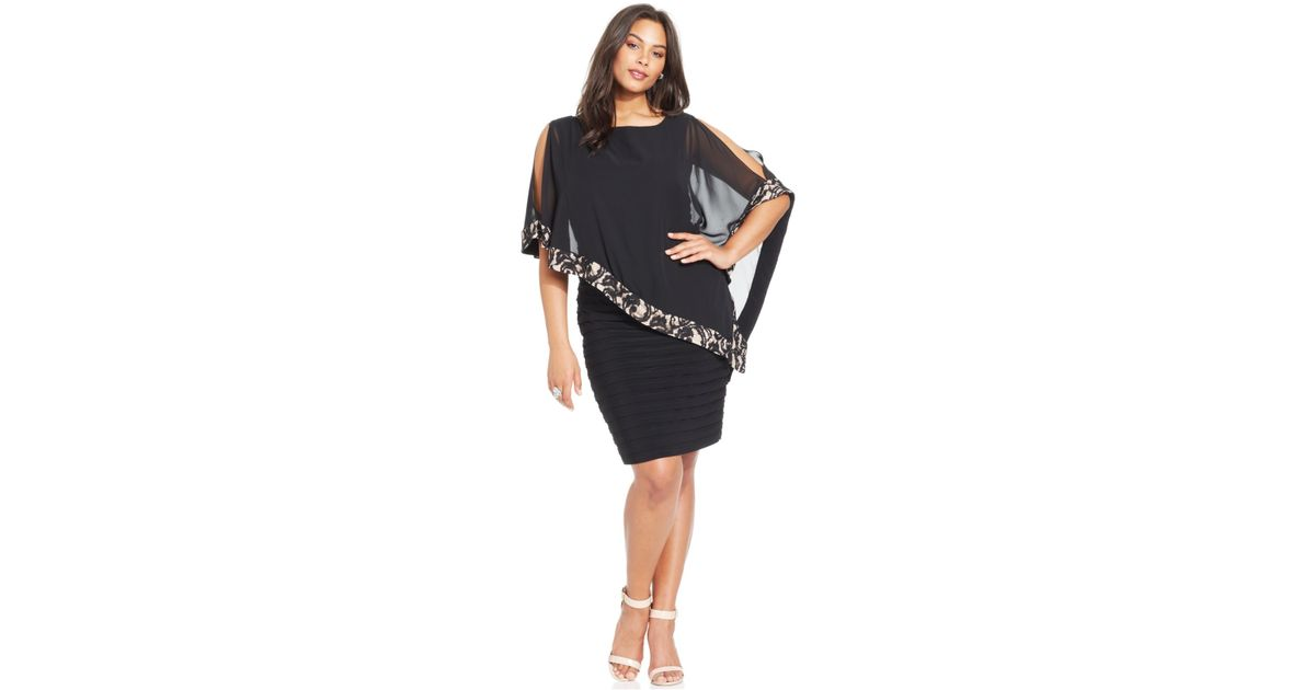 Plus Size Capelet Ibovnathandedecker