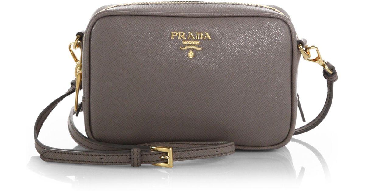 prada crossbody bag leather