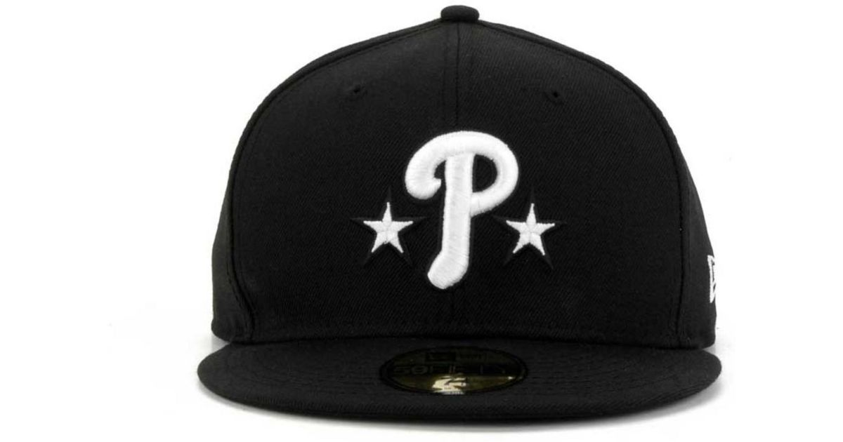 check out 03c93 69607 ... mlb twisted original fit 9fifty snapback kelly green 65991 bdb8b  low  cost lyst ktz philadelphia phillies b dub 59fifty cap in black for men  c7bc3 c4ca9