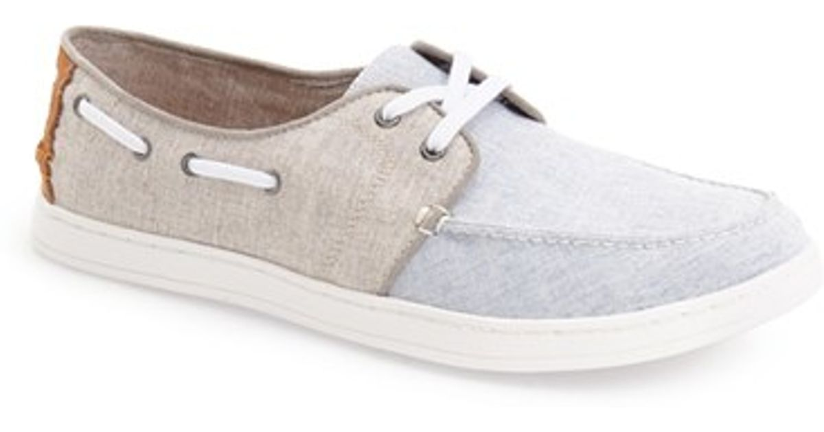 006d10a42d3 Lyst - TOMS  culver  Boat Shoe in White for Men