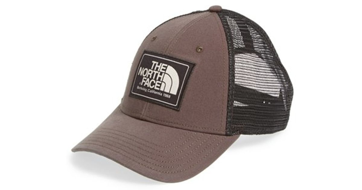 dc6caca6ee958 The North Face  mudder  Trucker Hat in Black for Men - Lyst