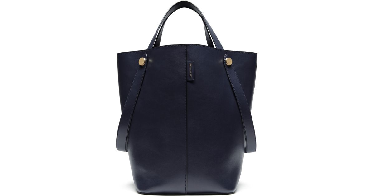 4b4f0a1579 ... best price mulberry kite leather tote bag in black lyst b987b 0bbbd ...