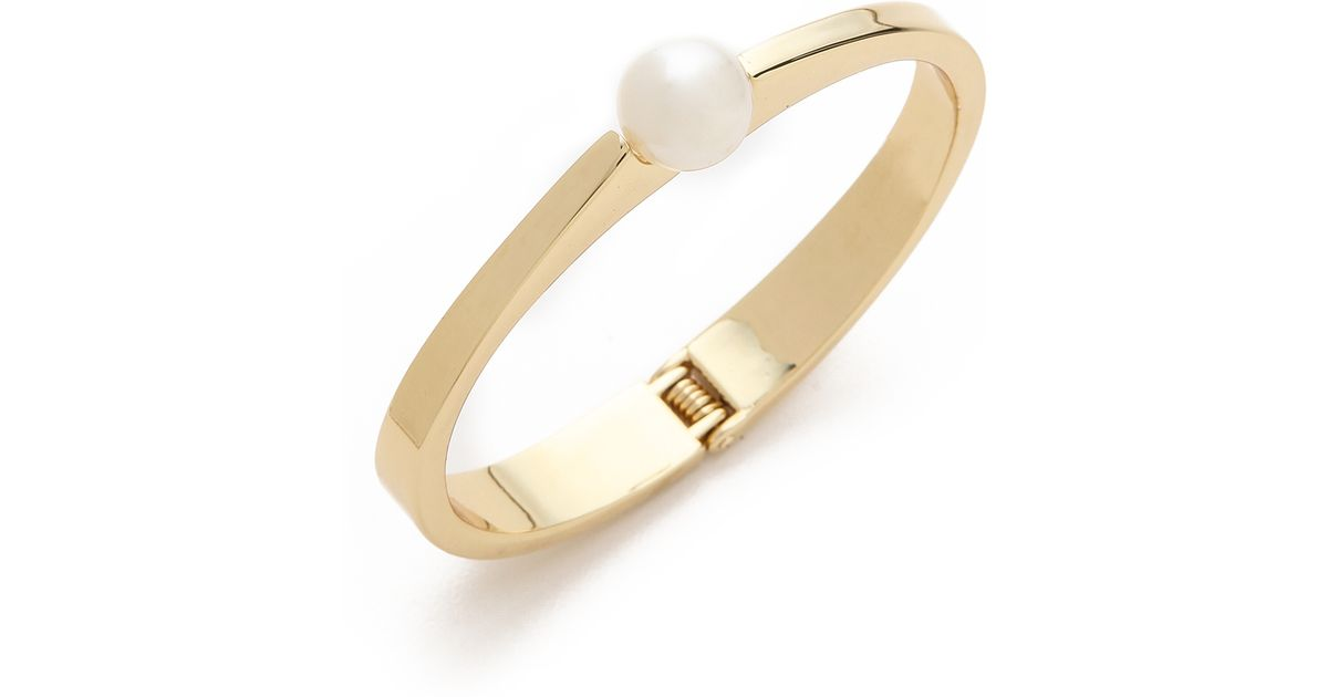sea south second pearl bangles bracelet and white bangle gold