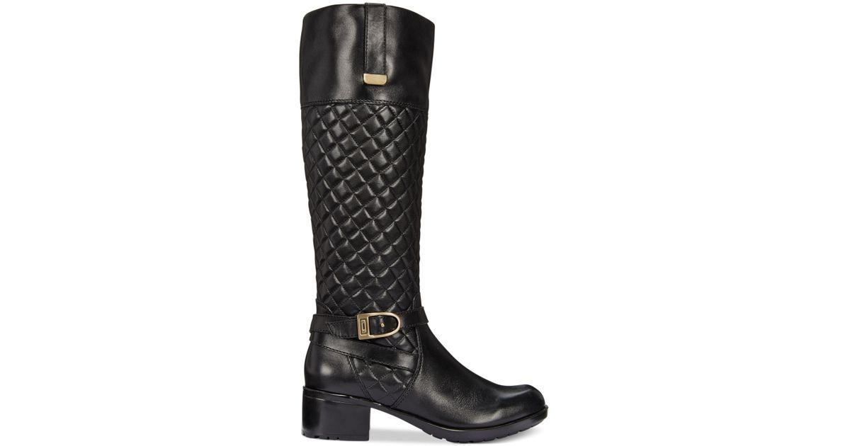 dark chanel v studiosessie blue boots sale fashion at clothing shoes black for quilt master riding quilted id