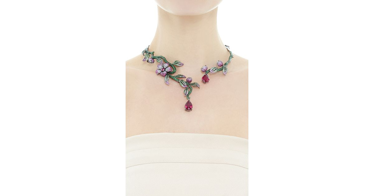 diamond vine ainson def product necklace helen