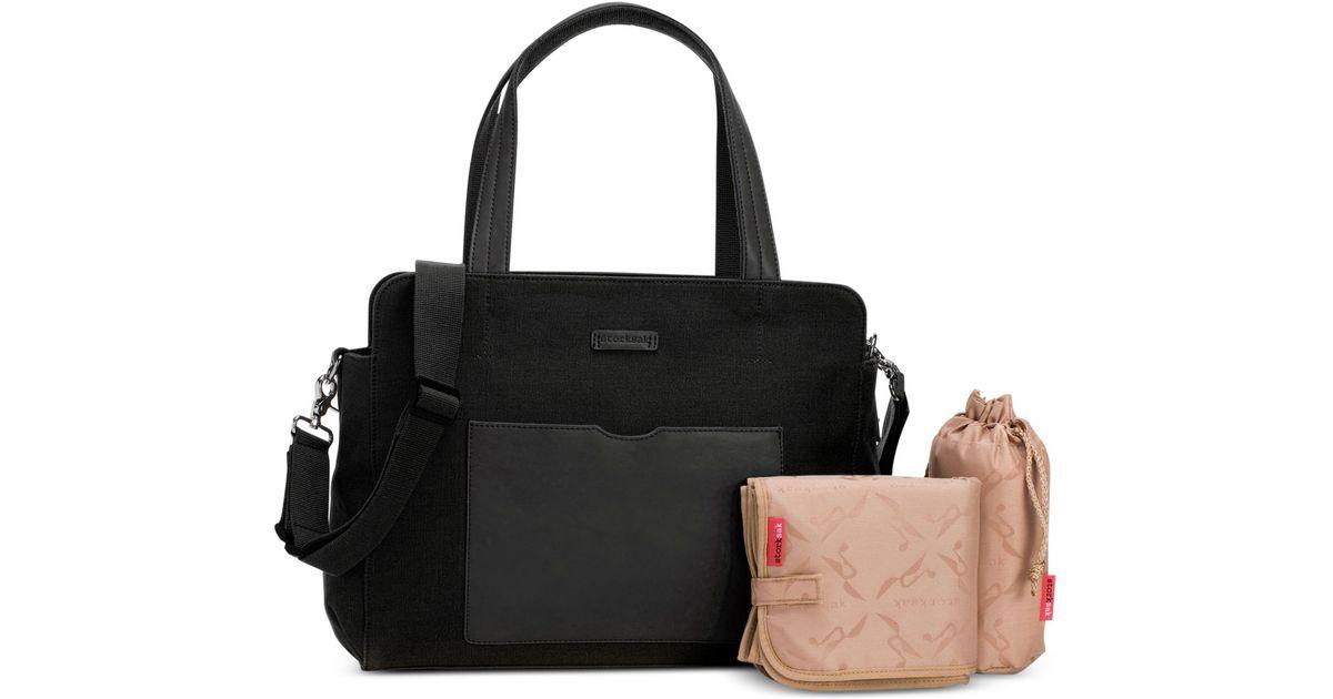 lyst storksak baby juliette diaper bag in natural. Black Bedroom Furniture Sets. Home Design Ideas