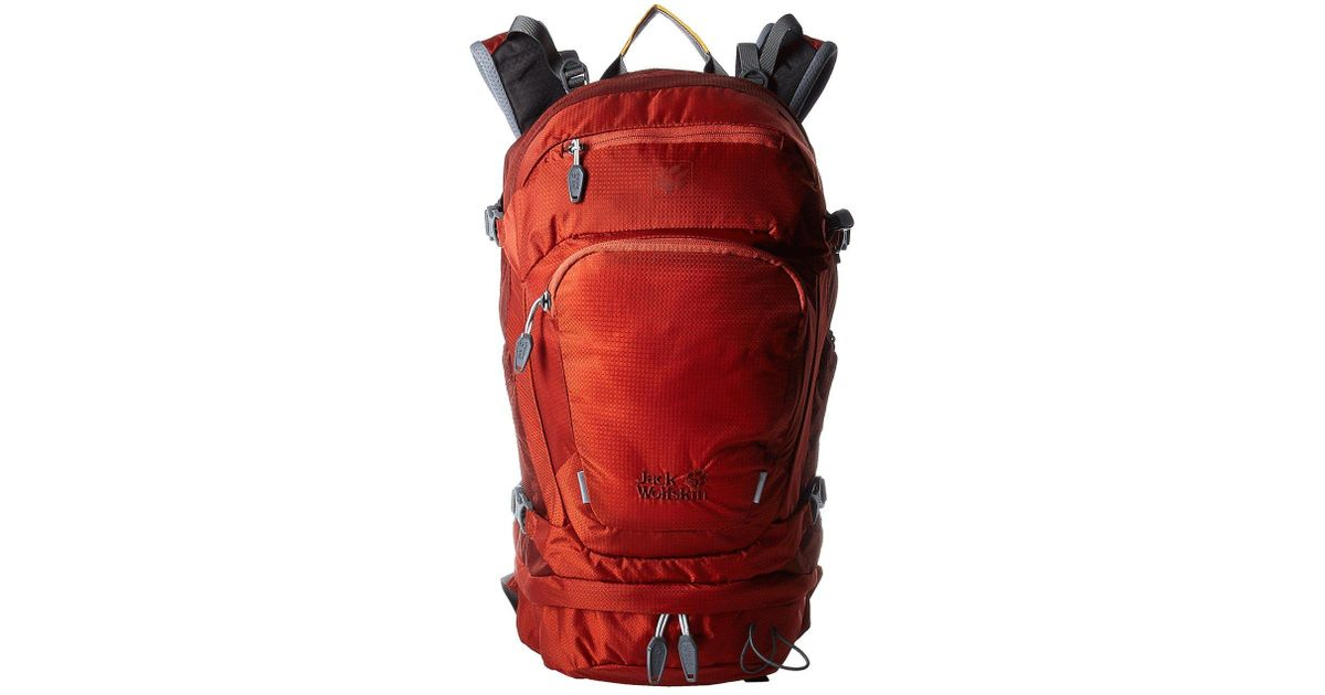 e7965c8861 Jack Wolfskin Satellite 22 Pack in Red - Lyst