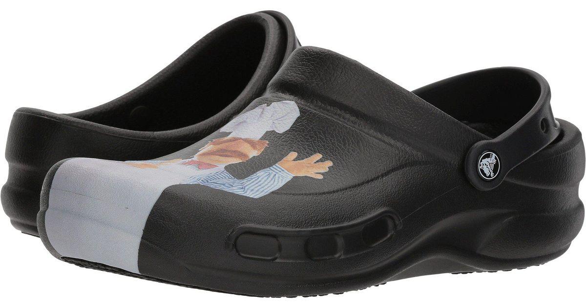 72024760f6532 Lyst - Crocs™ Bistro Swedish Chef Clog in Black