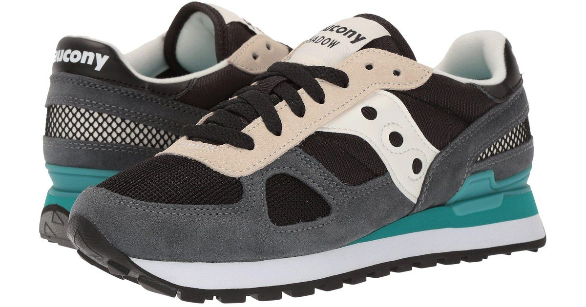 sale retailer 4d459 7516c Lyst - Saucony Originals Shadow Original Fashion Sneaker in Black