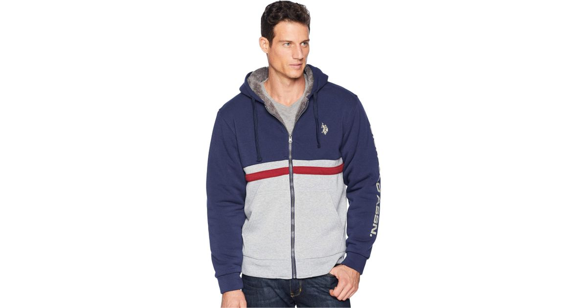 brand new 94ba6 ea130 Sleeve Wordmark Hoodie (classic Navy) Sweatshirt in Blue for Men - Lyst