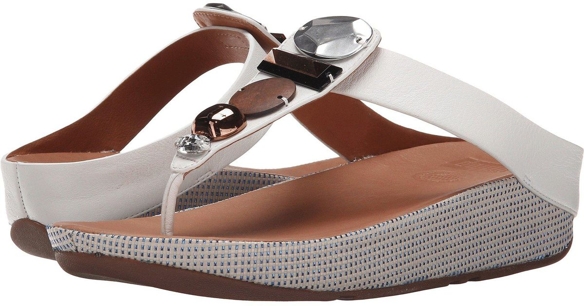 13058c8a2 Lyst - Fitflop Jeweley Toe Post