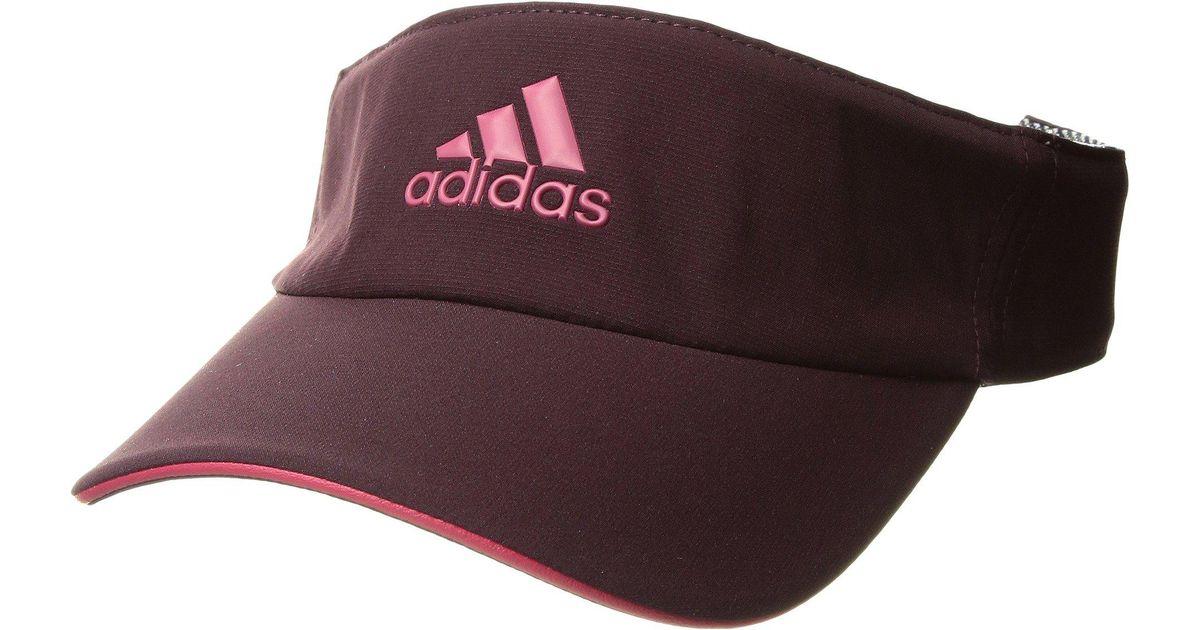 3bd0da51bdc Lyst - Adidas Tennis Climalite Visor