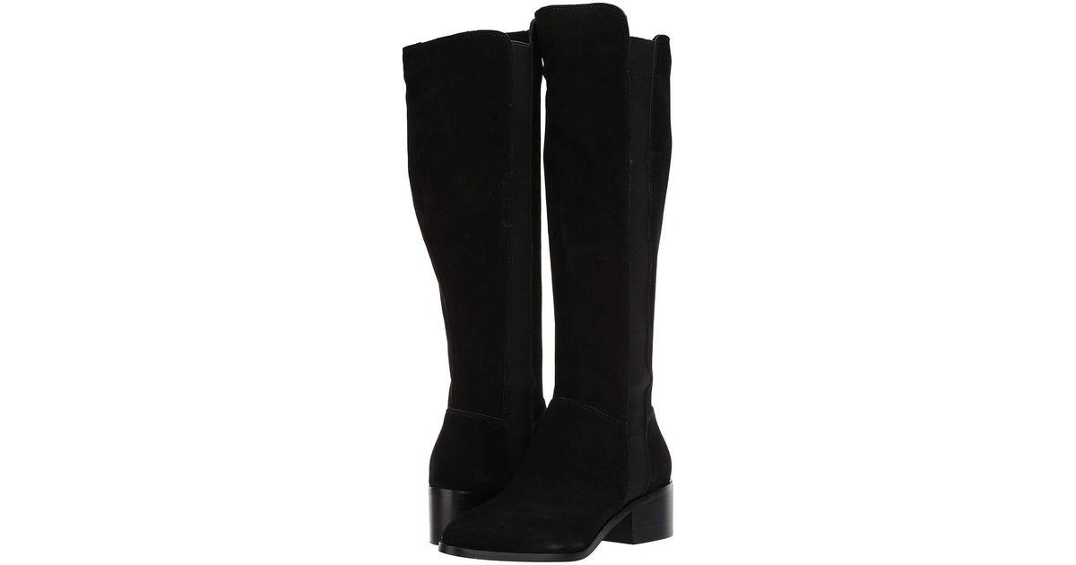 2270b9c9f629 Lyst - Steve Madden Giselle To The Knee Boot in Black