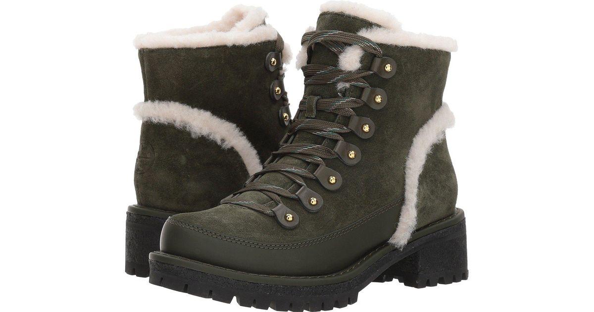044bd3f54d9 Lyst - Tory Burch Cooper Genuine Shearling Boot