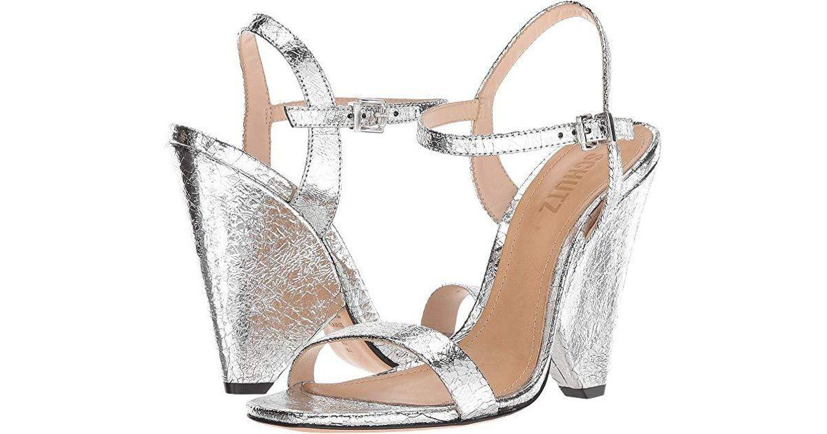 f1c8d70b45 Schutz Liliane (prata) Shoes in Metallic - Lyst