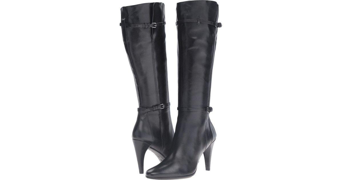 6e1545f7d5b Lyst - Ecco Shape 75 Sleek Tall Winter Boot in Black - Save 45%