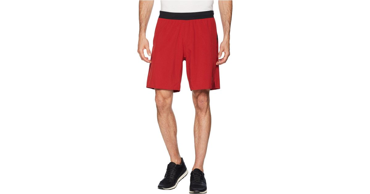 d6a52804ab82 Lyst - Reebok Crossfit Speed Shorts in Red for Men