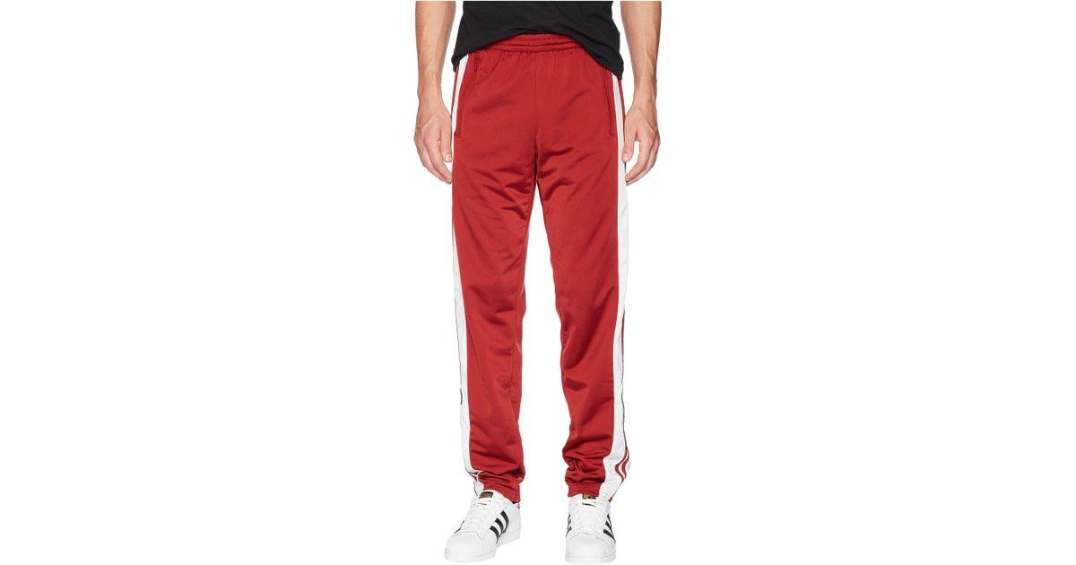 Lyst og adidas Originals og Lyst adibreak los pantalones de la pista en rojo para hombres 677838