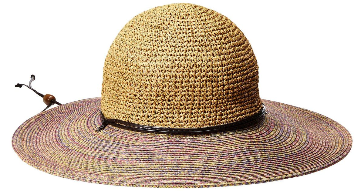 Lyst - San Diego Hat Company Ubl6483 4 Inch Brim Sun Hat With Adjustable  Chin Cord in Natural 66e74c26877