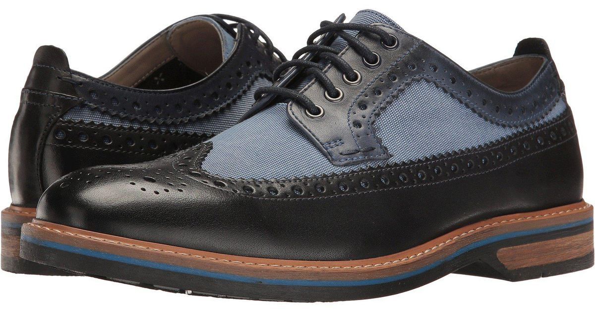 Lyst - Clarks Pitney Limit in Blue for Men 312b311740a